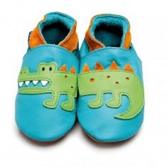 Crocodile with orange