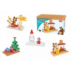 PlayBIG Bloxx Masha and the Bear - Basics Sets - Камин
