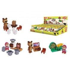 PlayBIG Bloxx Masha and the Bear - Starter Sets - Телевизорот на Маша